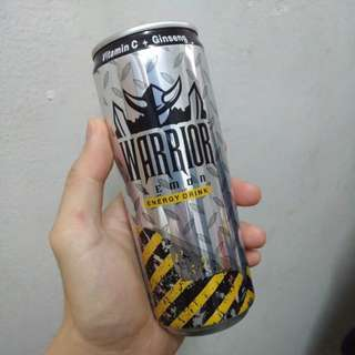 Warrior Energy Drinks