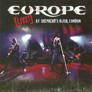 Europe ‎– Live! At Shepherd´s Bush, London CD+DVD Sealed