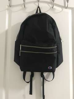 Champion Black Backpack