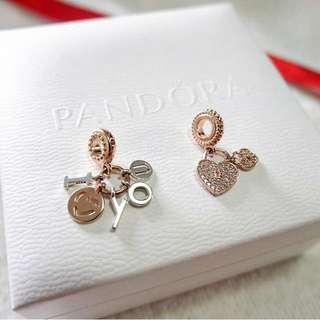 Pandora Rose Charm