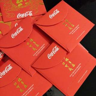 Red Packets. Coca cola