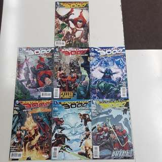Justice League 3000 Yesterday Lives Comics Set