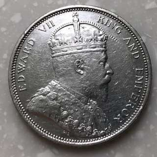 Vintage coin king Edward VII 1903