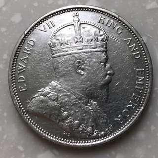 Vintage coin king Edward VII 1903