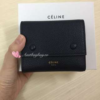 歐洲 法國 巴黎 代購 Celine  零錢包 錢包 袋 包 禮物 名牌 代購 Chanel Ysl Bv Dior Balenciaga Gucci Hermes Chole 銀包 鞋