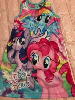My Little Pony Dress Instock for 4-5yrs old brand new
