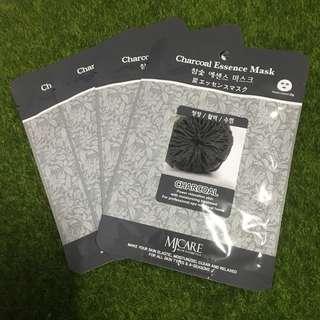 Brand New Charcoal Korean Face Mask Sheet