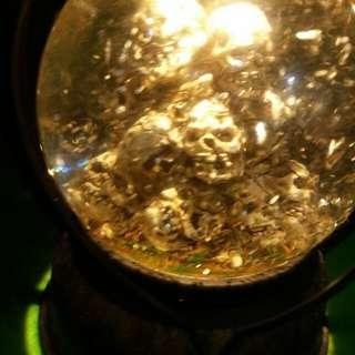 咕嚕頭水晶燈