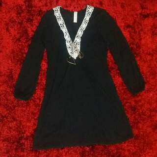 Black doll dress (O.P. 250)