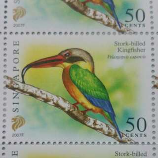 Singspore stamps 50 cents (new) 1000 pcs