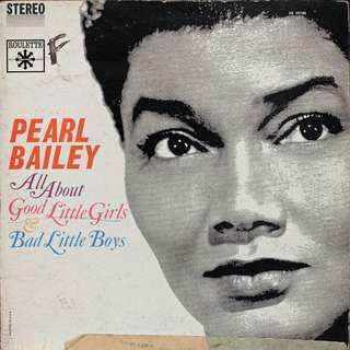 Pearl Bailey, Vinyl LP, used, 12-inch original (mostly USA) pressing