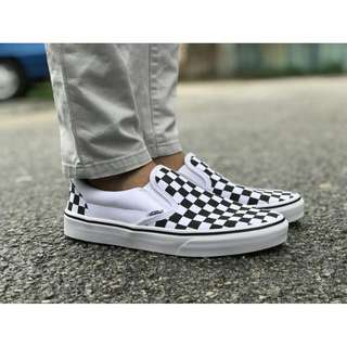 Vans Classic Checkerboard Slipon