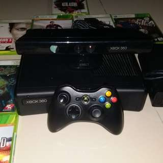 Xbox360 with kinect