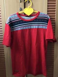 Kaos Merah Graphite (singapore)