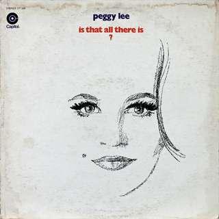 Peggy Lee, Vinyl LP, used, 12-inch original (mostly USA) pressing
