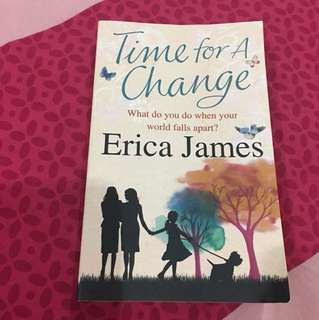 Time For A Change (Author: Erica James)