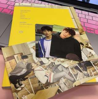[wts] astro spring up unsealed album w pc & poster