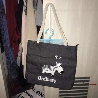 Tote Bag | Bag Kuliah | Tote Simple | Tas Kanvas