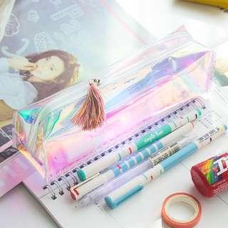 [incoming instocks / po] holographic pencil case