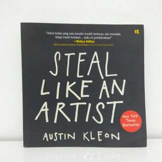 """Steal Like An Artist"" Austin Kleon edisi Bahasa Indonesia"