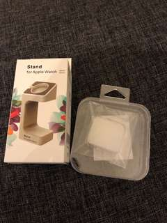 Apple Watch Stand & Case
