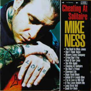 Mike Ness ‎– Cheating At Solitaire CD (Social Distortion) Mint Cond