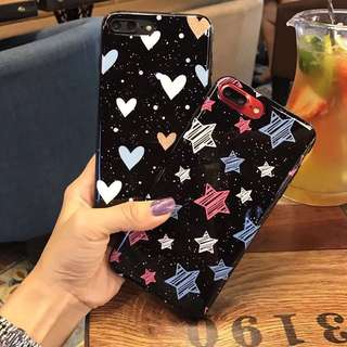 Star heart case