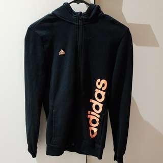 Adidas zipup jacket size s