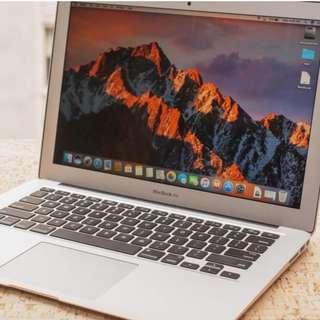 MacBook Air (13inch, 256gb ssd, 4gb ram, early 2014)