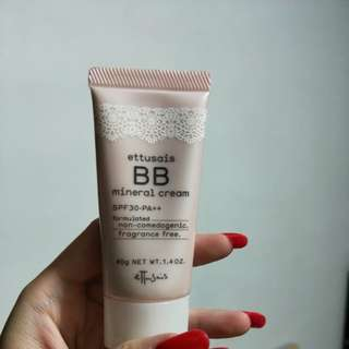Ettusais BB cream SPF30PA++ (Japan)