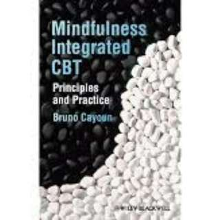 eBook - Mindfullness Integrated CBT by Barney uno Cayoun