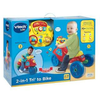 Vtech Baby 2-In-1 Tri'  Trike To Bike