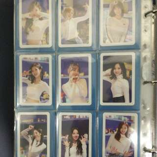 WTS TWICE Merry and Happy Full Photocard Set