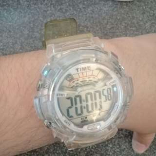 Time clock water resistant