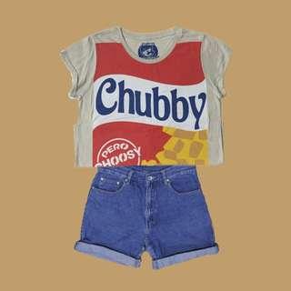 CHUBBY PERO CHOOSY TEE
