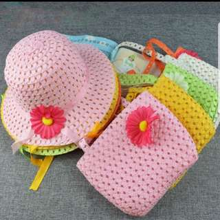 Summer Hat and bag for kids