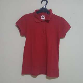 Gretel Red Polo