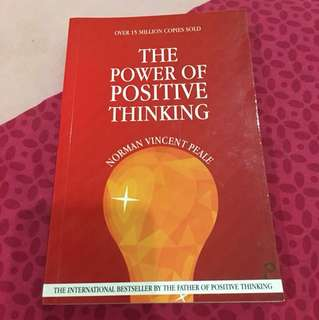 The Power of Positive Thinking (Author: Norman Vincent Peale)