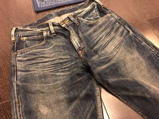 Lee regular fit straight cut jeans Japan 日本製 靚洗水