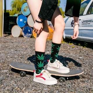 [Unisex] Weed Socks long version