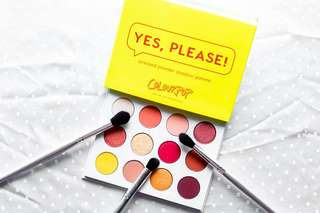 Colourpop Yes, Please Pressed Powder Shadow Palette