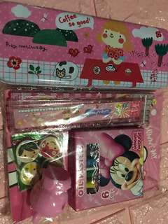 Instock goodie bag gift set brand new Stationery set .. pm me For Bulk purchase