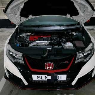 Civic TypeR turbo FK2 Hurricane Filter
