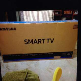 "Sealed unopened FULL HD Samsung Smart Hub 40"" TV"