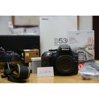 Nikon D5300 DSLR Body (DX Format) - SC 16873 #15off