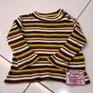 Biquette Long Sleeves Shirt (6-12m)