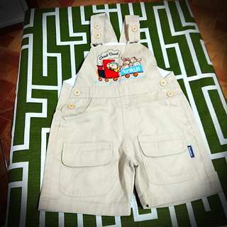 Baby Bear Khaki Jumper with Tom & Jerry Polo