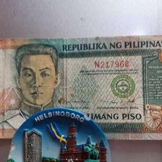 5 Peso Bill