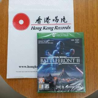 【New 全新】XBOX ONE Star Wars  Battle Front  II