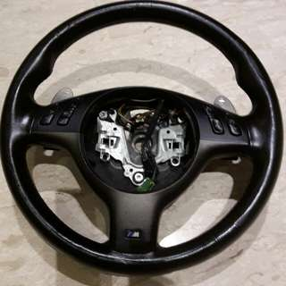 Bmw m3 e46 steering wheel